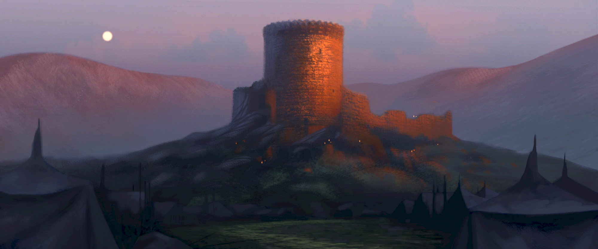 Brave Maudie Porn Cartoon - Bright Castle: Castle DunBroch, ...